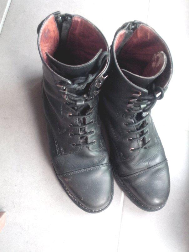 Boots Dandy après 8 mois d'utilisation quotidienne peu intensive.