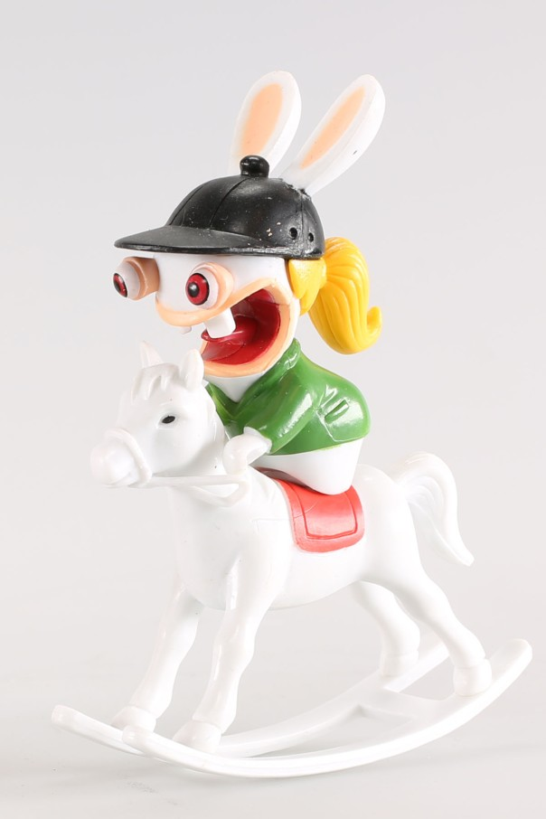 Equidus Stupidis supporte tous les cavaliers..